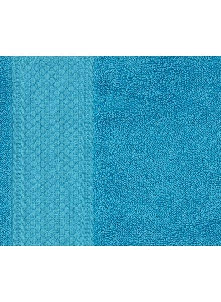 serviette de bain - 70x140 cm - qualité épaisse - aqua - 5214605 - HEMA