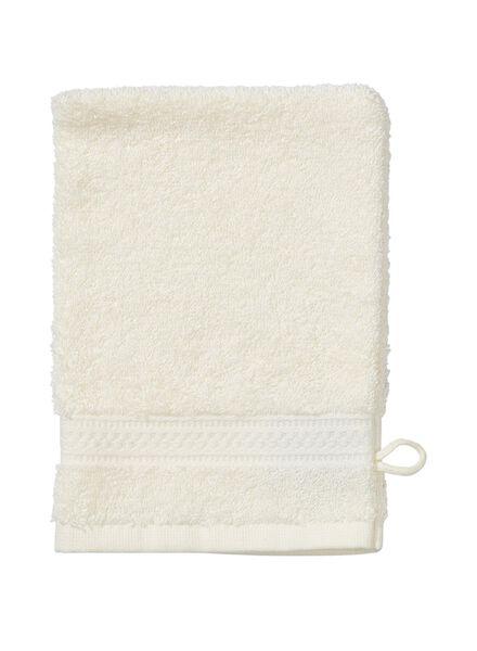 gant de toilette - qualité épaisse - écru uni - 5272601 - HEMA