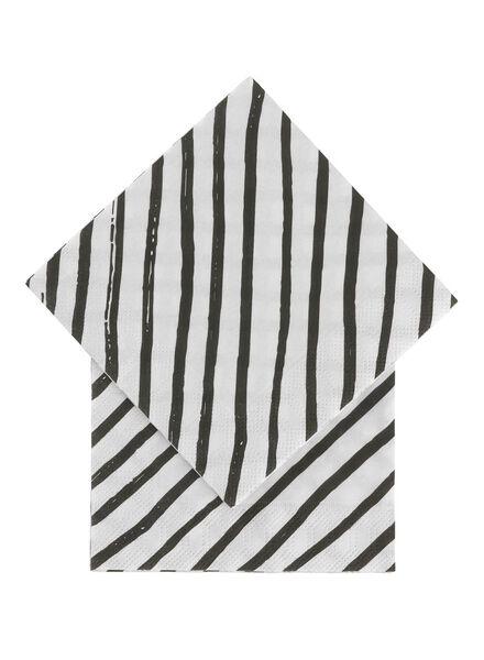 20er-Pack Servietten, 24 x 24 cm - 14230045 - HEMA