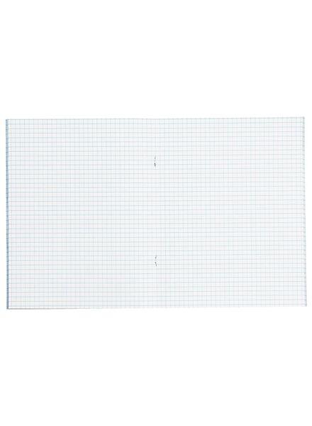 3er-Pack Hefte – 16.5 x 21 cm – kariert – 5 x 5 mm Karo - 14101607 - HEMA