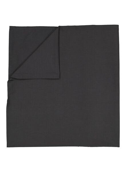 drap - 240 x 260 - coton doux - gris foncé - 5100027 - HEMA