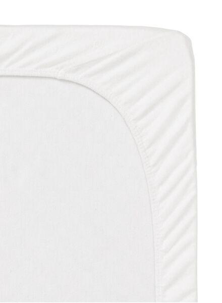 drap-housse molleton - stretch - 180x220 cm - 5140103 - HEMA