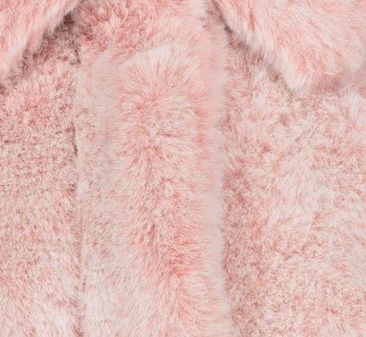 children's coat imitation fur dip-dye pink pink - 1000020132 - hema