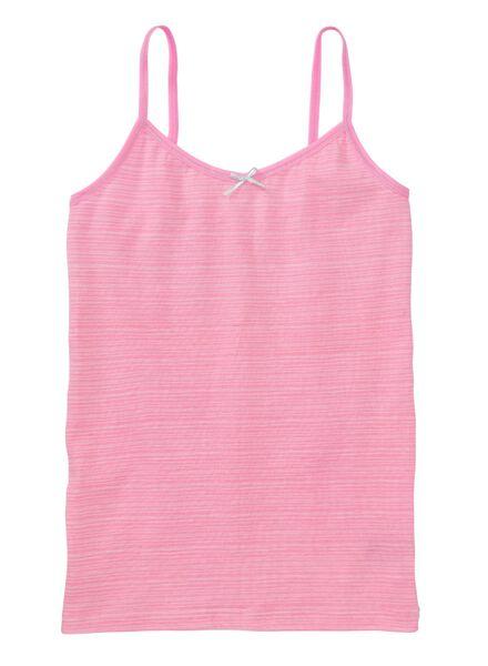 2-pack children's vests fluor pink fluor pink - 1000007309 - hema