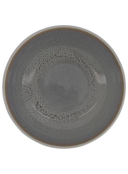 bowl 16 cm - helsinki - reactive glaze - light grey - 9602017 - hema