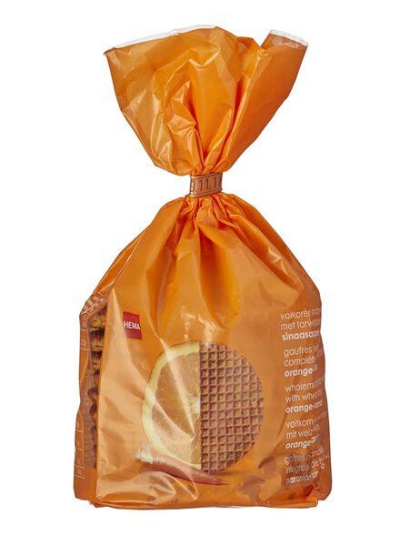 Lot de 10 gaufres hollandaises orange-carotte - 10800006 - HEMA