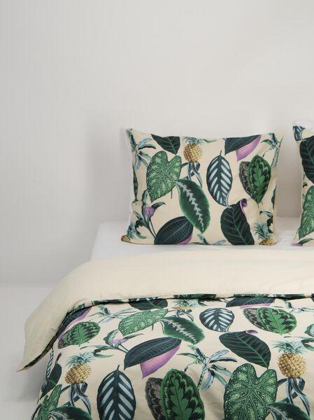duvet cover - hotel satin cotton green green - 1000018689 - hema