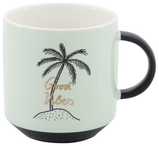 mug Ø8cm 250ml palmier - 61140124 - HEMA