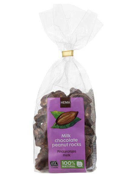rochers de cacahuètes chocolat au lait - 10311035 - HEMA