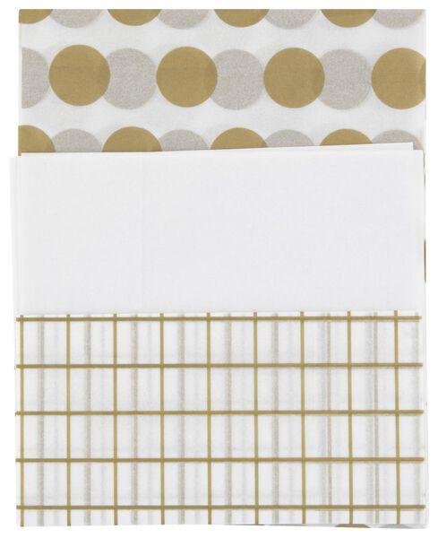 3 sheets of tissue paper 70x50 - 14700333 - hema