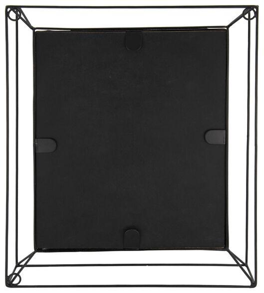 fotostandaard metaal 20x30 - zwart - 13621017 - HEMA
