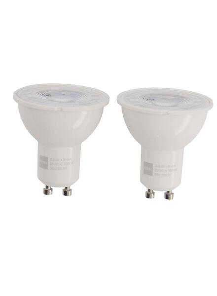 LED lamp 50W - 345 lm - spot - helder - 2 stuks - 20090041 - HEMA