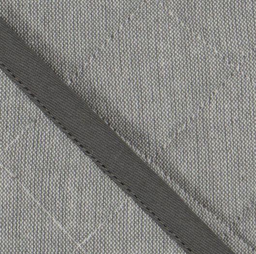pot-holder - 21 x 21 - cotton - grey - 5420004 - hema