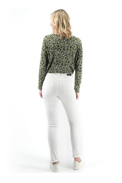dames jeans - skinny fit gebroken wit gebroken wit - 1000018246 - HEMA
