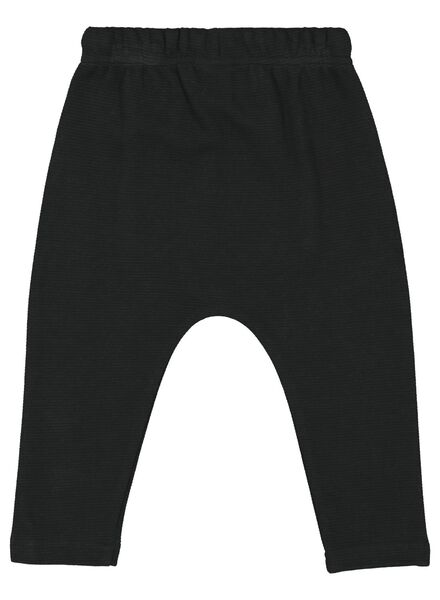 baby sweatpants black black - 1000016915 - hema