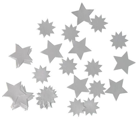 Konfettisterne, silbern, 128 g - 25300017 - HEMA