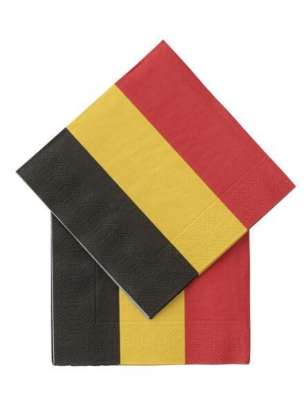 20er-Pack Servietten, 24 x 24 cm - 25200268 - HEMA