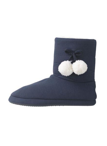 women's slippers blue blue - 1000006331 - hema