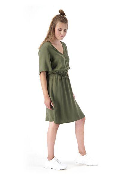 women's dress olive olive - 1000020074 - hema