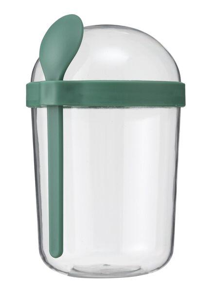 Joghurtbecher, 500 ml, grün - 80630553 - HEMA