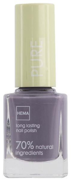pure long-lasting nail polish 233 lilac blossom - 11240233 - hema