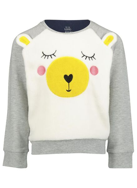 children's pyjamas grey melange grey melange - 1000016652 - hema
