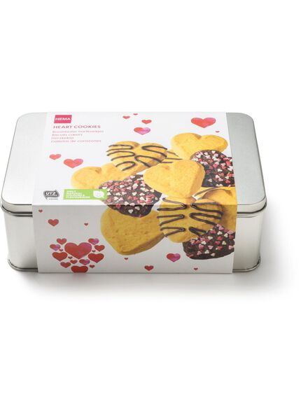 tin with heart-shaped biscuits - 10920150 - hema