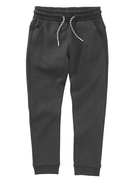 pantalon sweat enfant noir noir - 1000004031 - HEMA