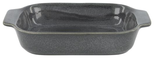 Auflaufform, 21 x 15 x 5 cm, reaktive Glasur, grau - 80140004 - HEMA
