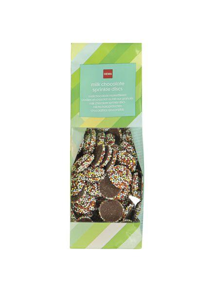 pastilles au chocolat au lait aux granulés de sucre - 10360024 - HEMA