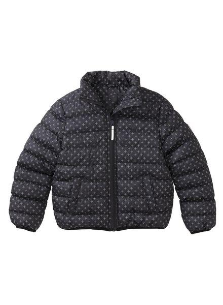 children's coat black black - 1000006184 - hema