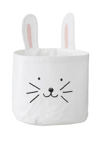 panier en toile lapin de Pâques 26 x 15 cm - 25820165 - HEMA