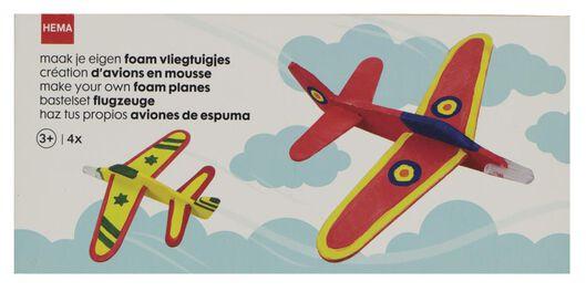 4 avions en mousse à fabriquer - 15920107 - HEMA