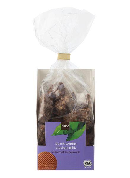 stroopwafel rotsjes melkchocolade - 10311032 - HEMA