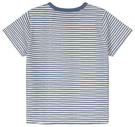 Baby-T-Shirt, Streifen eierschalenfarben eierschalenfarben - 1000024082 - HEMA