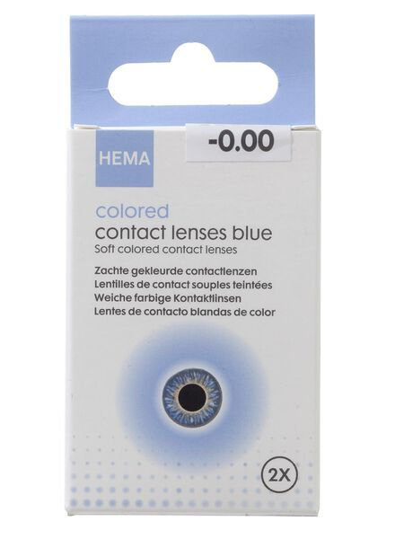 coloured contact lenses - blue - 11973020 - hema