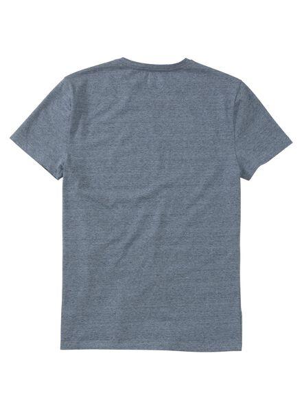 men's T-shirt denim denim - 1000006110 - hema