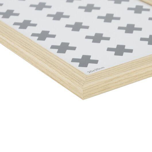 fotolijst hout 20x30 naturel - 13611133 - hema