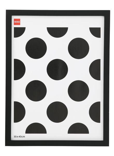photo frame 30x40 - wood black - 13680026 - hema