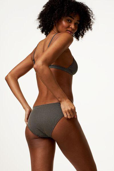 Damen-Bikinioberteil, ohne Bügel, Glitter schwarz schwarz - 1000023602 - HEMA
