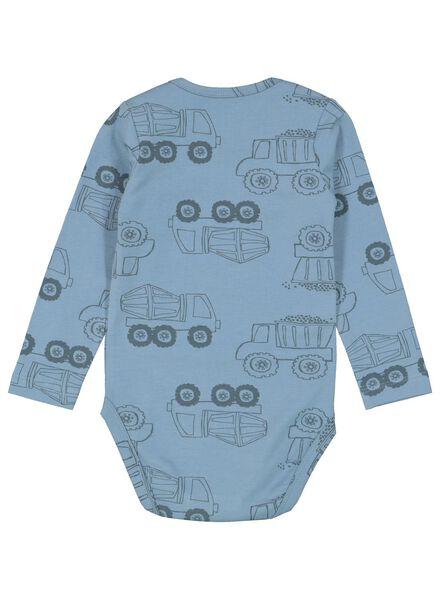 body coton biologique stretch bleu bleu - 1000015310 - HEMA