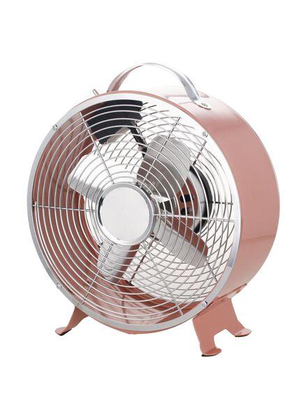 ventilateur rétro rose 25W - 80010070 - HEMA