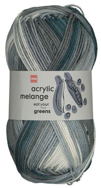 HEMA Garen Acryl 100gram Melange Groen (groen)