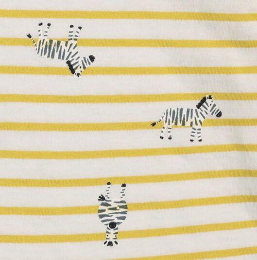 baby T-shirt yellow yellow - 1000017542 - hema