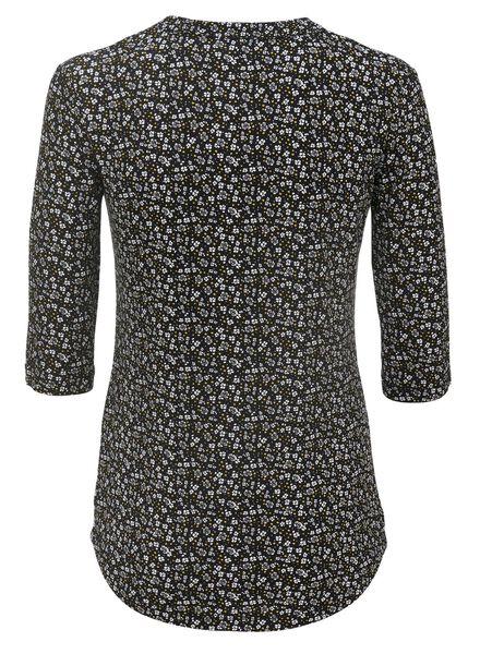 women's T-shirt black black - 1000007655 - hema