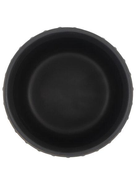 bloempot Ø 13.5 cm - keramiek - grijs - 13392074 - HEMA