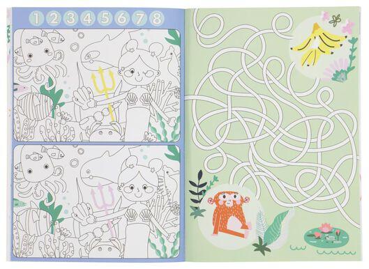 livre à colorier et d'activité - 15910093 - HEMA