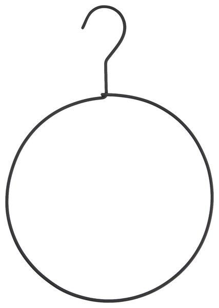 Schal-/Gürtelbügel, Ø 20 cm, Metall, schwarz - 39821121 - HEMA