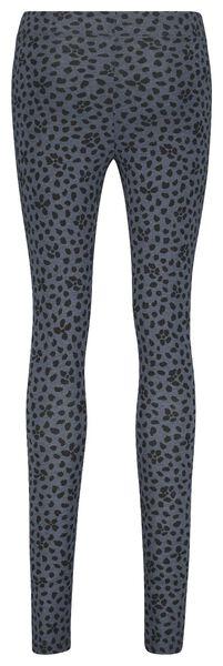 Damen-Leggings mit Bambus dunkelblau dunkelblau - 1000021363 - HEMA