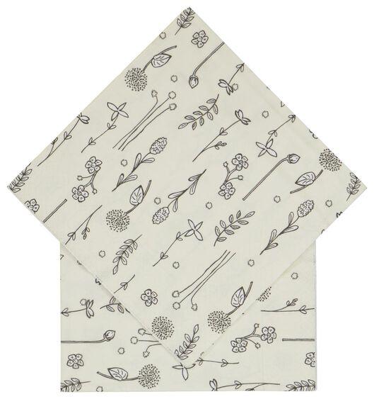 20er-Pack Servietten, 33 x 33 cm, Papier, Pflanzen - 14200456 - HEMA
